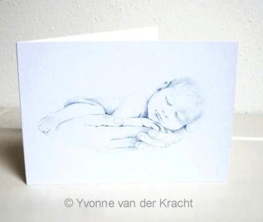 getekende geboortekaartjes